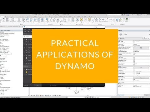 Practical Applications of Dynamo - Energy-BIM com Blog
